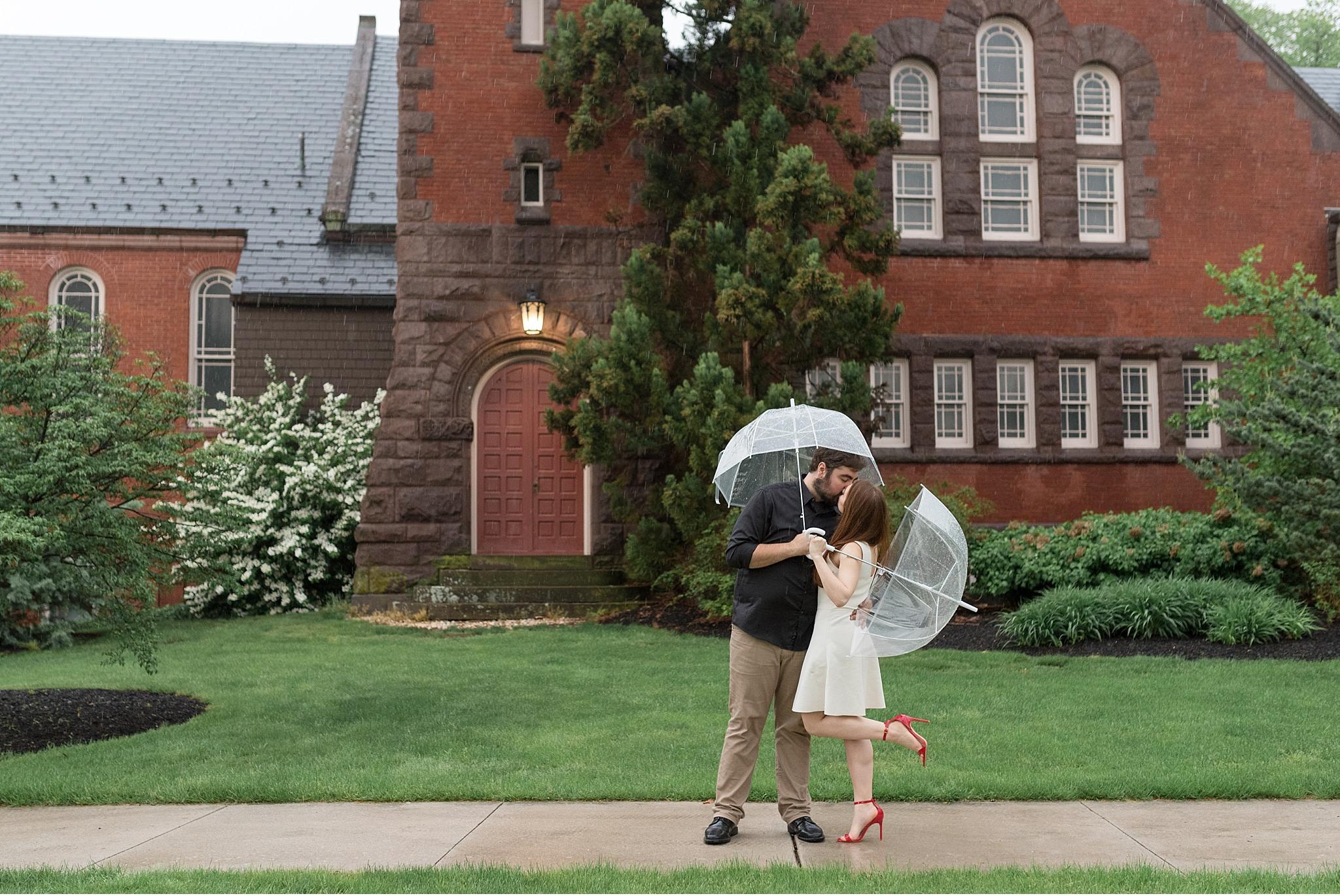 Rainy spring engagement session Gettysburg College Campus Wedding Photography Photo_1508.jpg