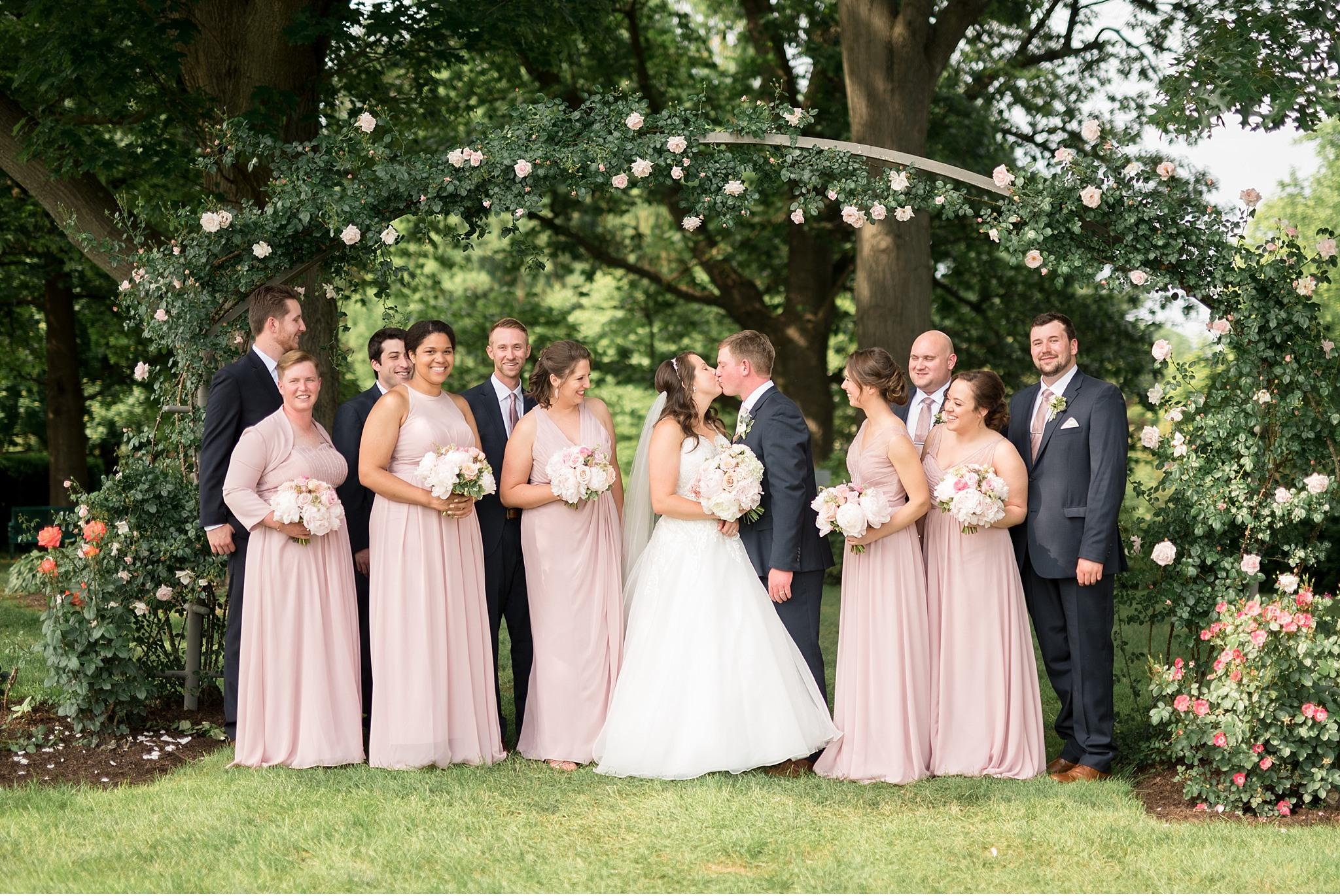 Bridal Party Hershey Gardens Hershey Country Club Summer beautiful wedding photography_1588.jpg