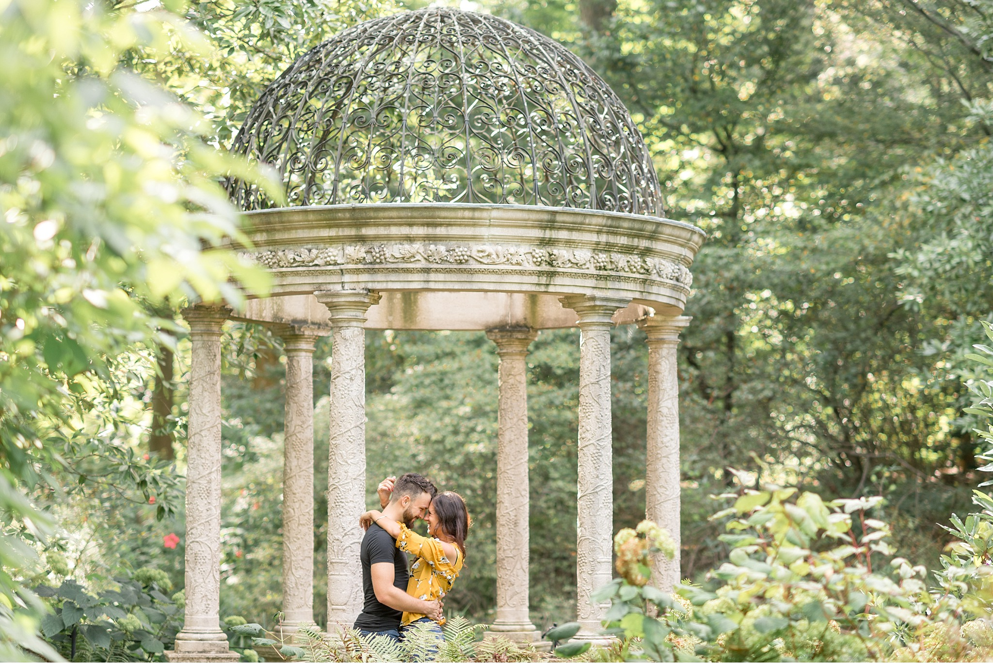 Light and airy engagement session Longwood Gardens Philadelphia Wedding photographer_2255.jpg