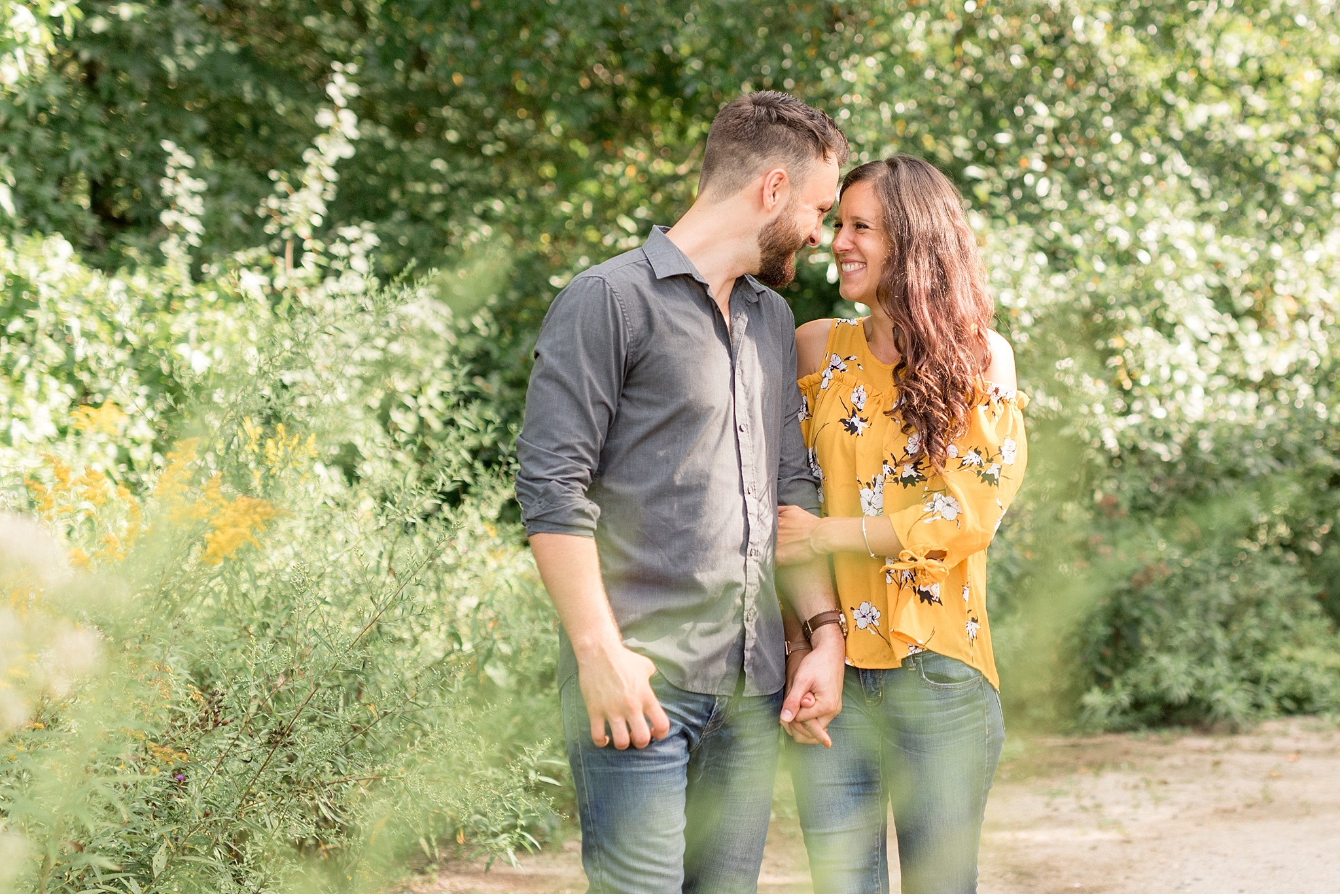 Light and airy engagement session Longwood Gardens Philadelphia Wedding photographer_2257.jpg