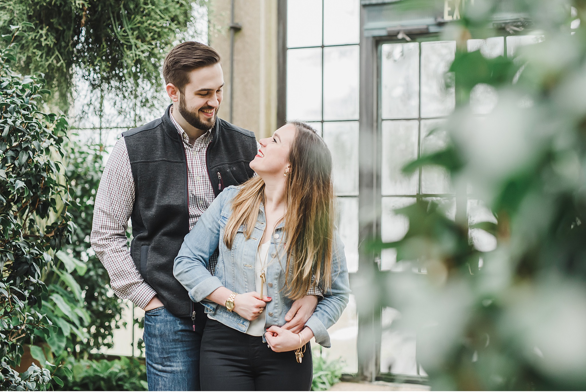 Longwood Gardens Orchid Engagement Wedding Photography_3035.jpg