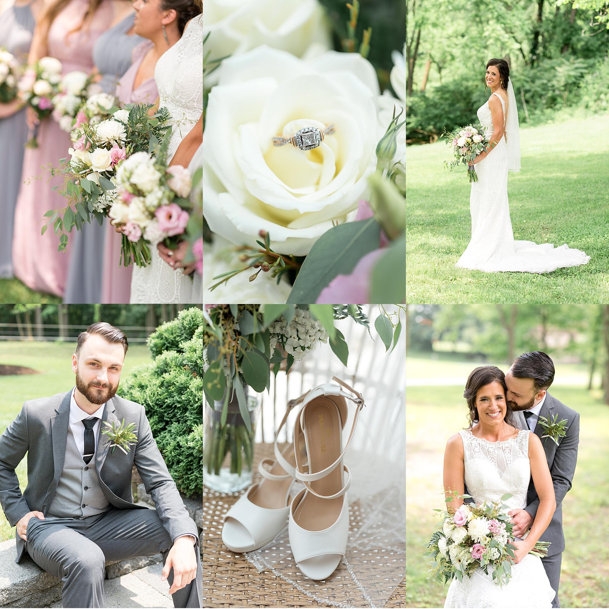 Summer wedding Lancaster County Simmontown Wedding Barn Photography