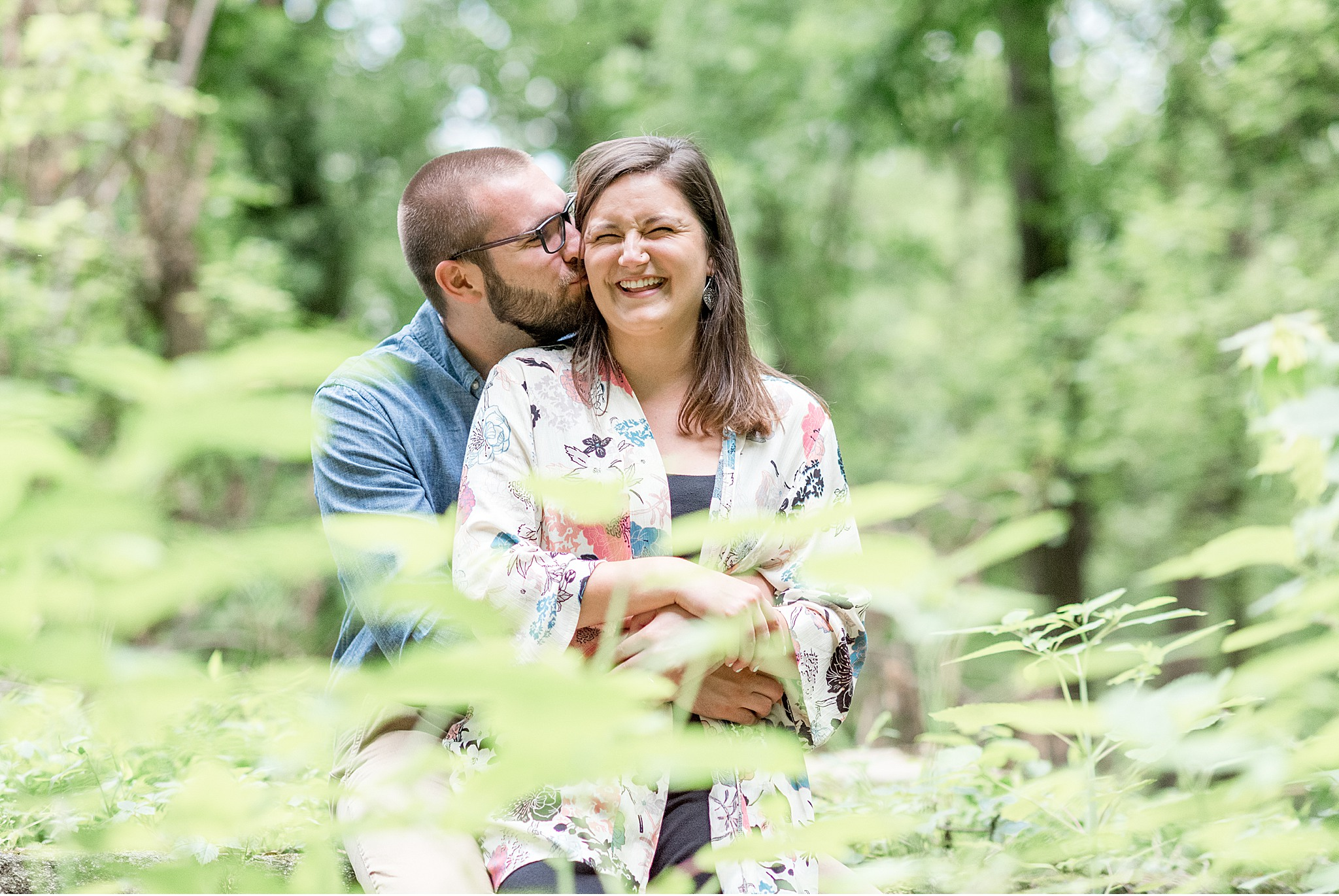 Lancaster County Summer engagement session photography