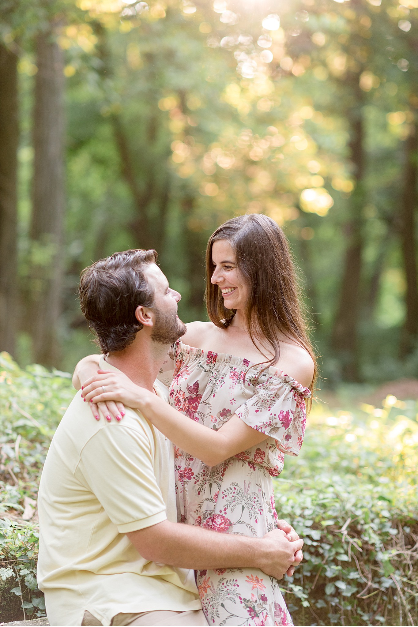 Chickies Rock Lancaster PA Summer sunset engagement session
