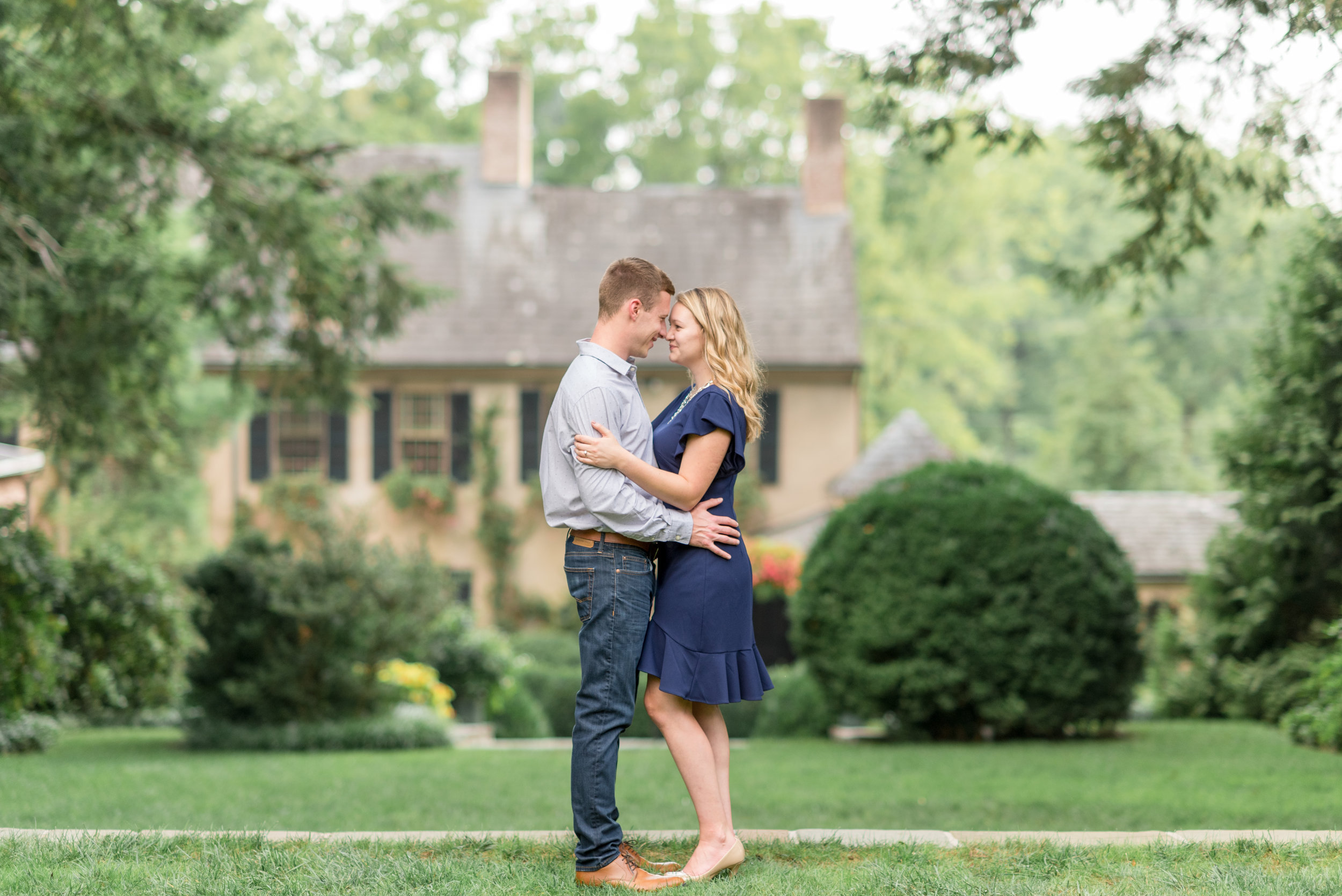 Conestoga House and Gardens Engagement Session Wedding Photography