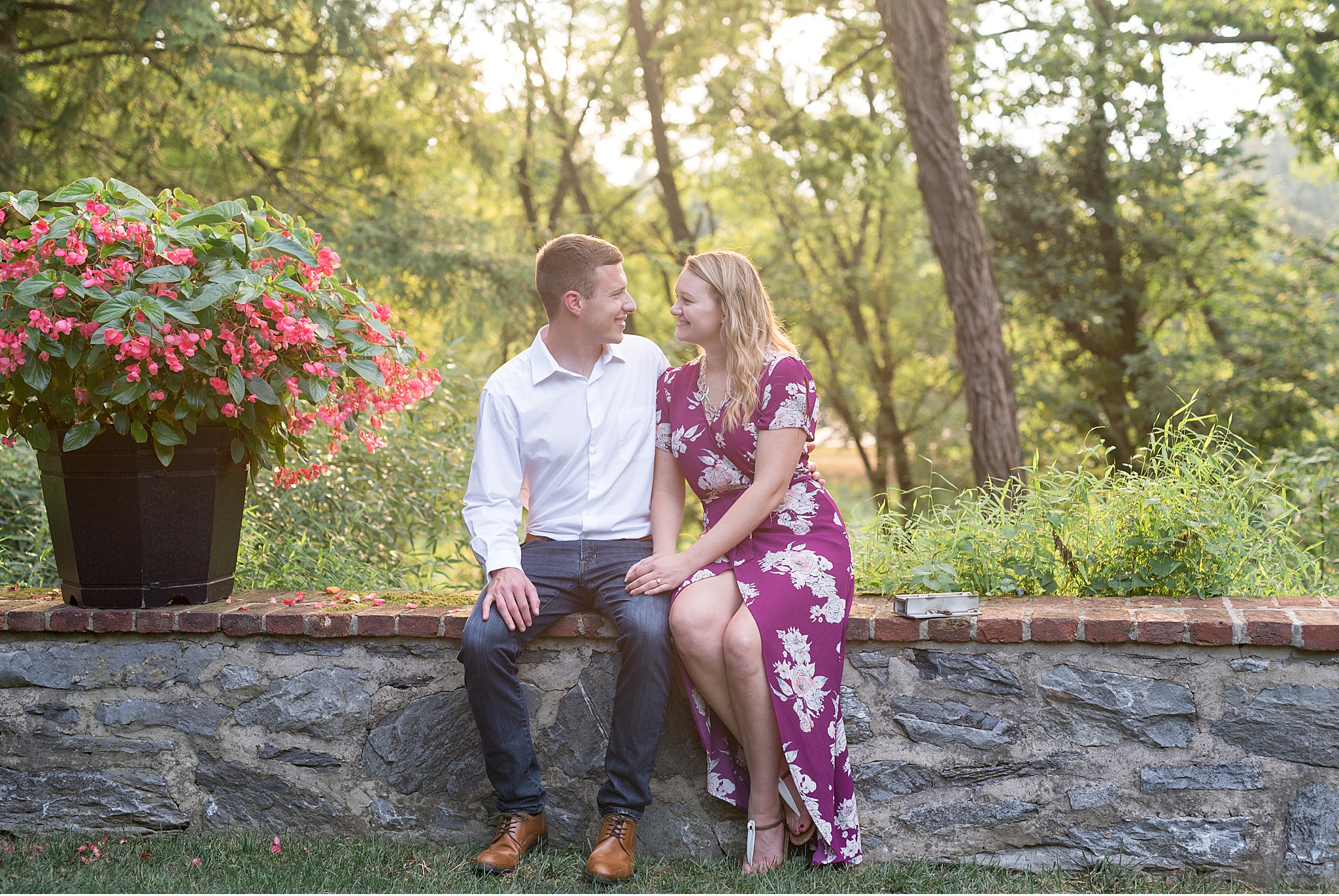 Conestoga House and Gardens Lancaster PA Engagement Session