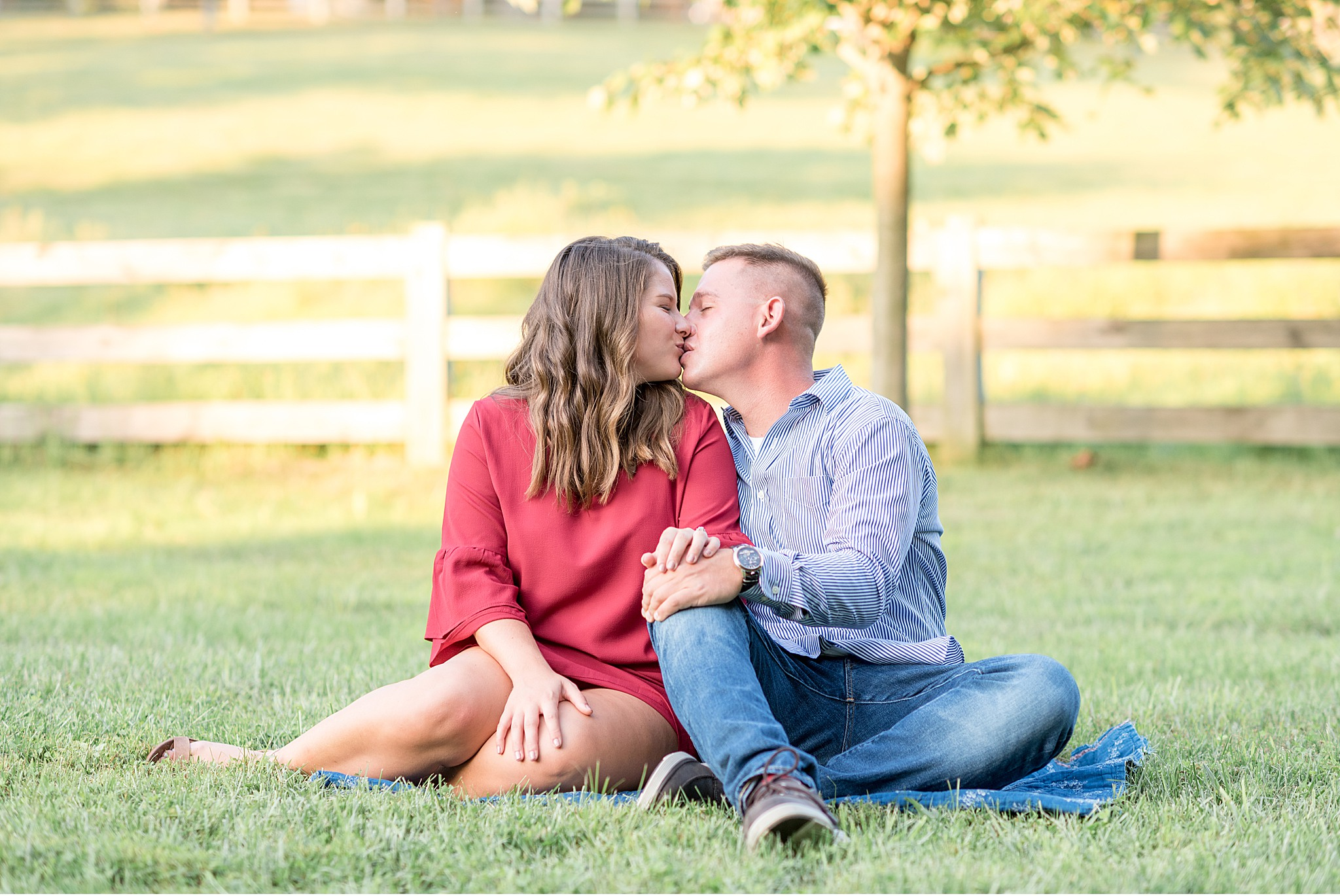Lancaster County Greenhouse Engagement Session