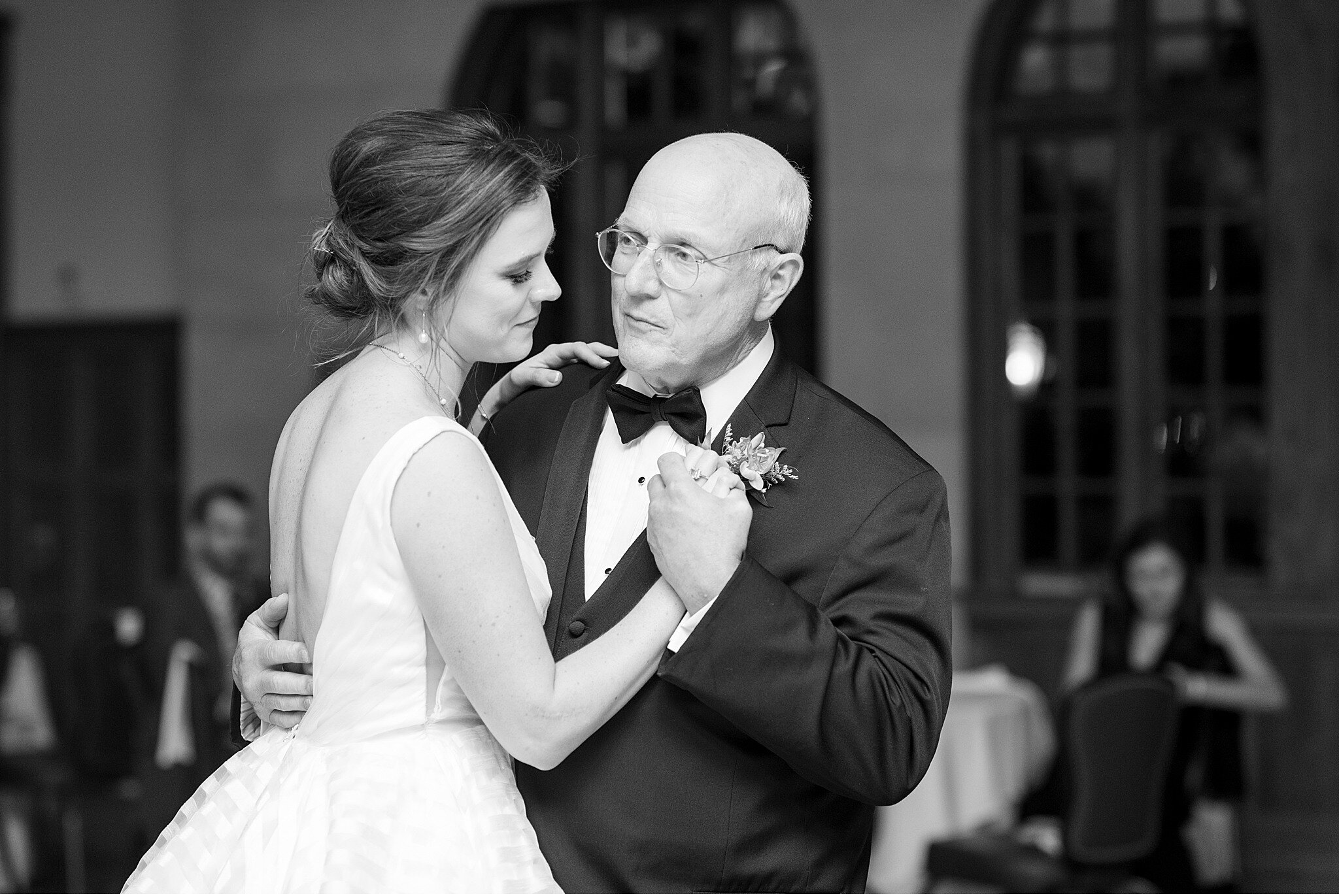 Father daughter first dance Aronimink golf Club Newtown Square Wedding