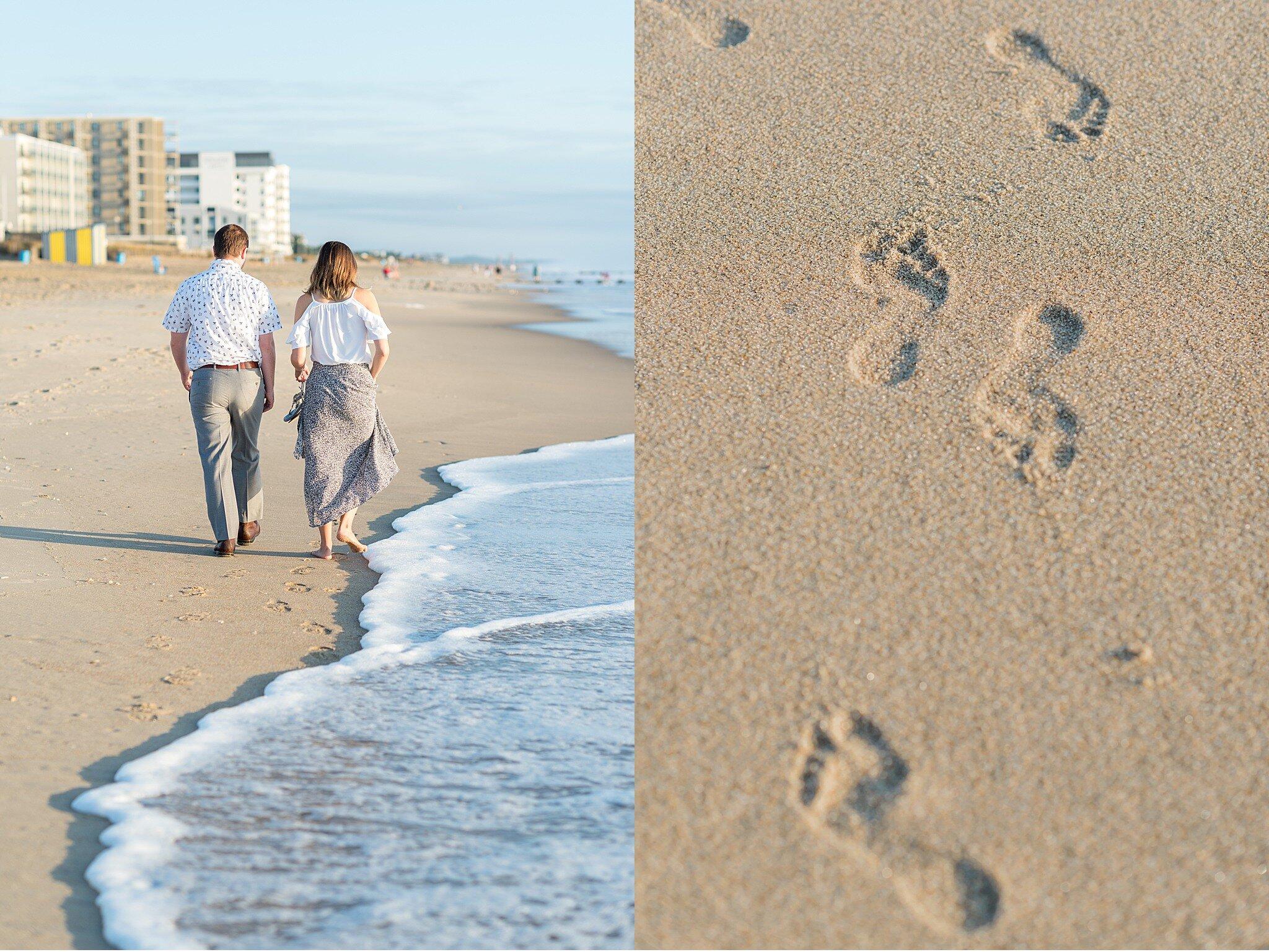 Rehoboth Beach Sunrise engagement session Cape Henlopen Beach Photography_4083.jpg