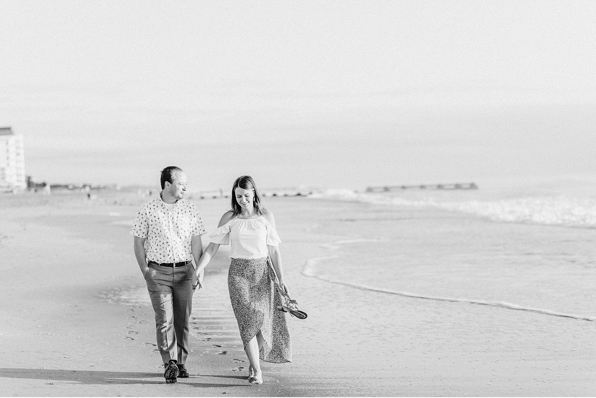 Rehoboth Beach Sunrise engagement session Cape Henlopen Beach Photography_4084.jpg
