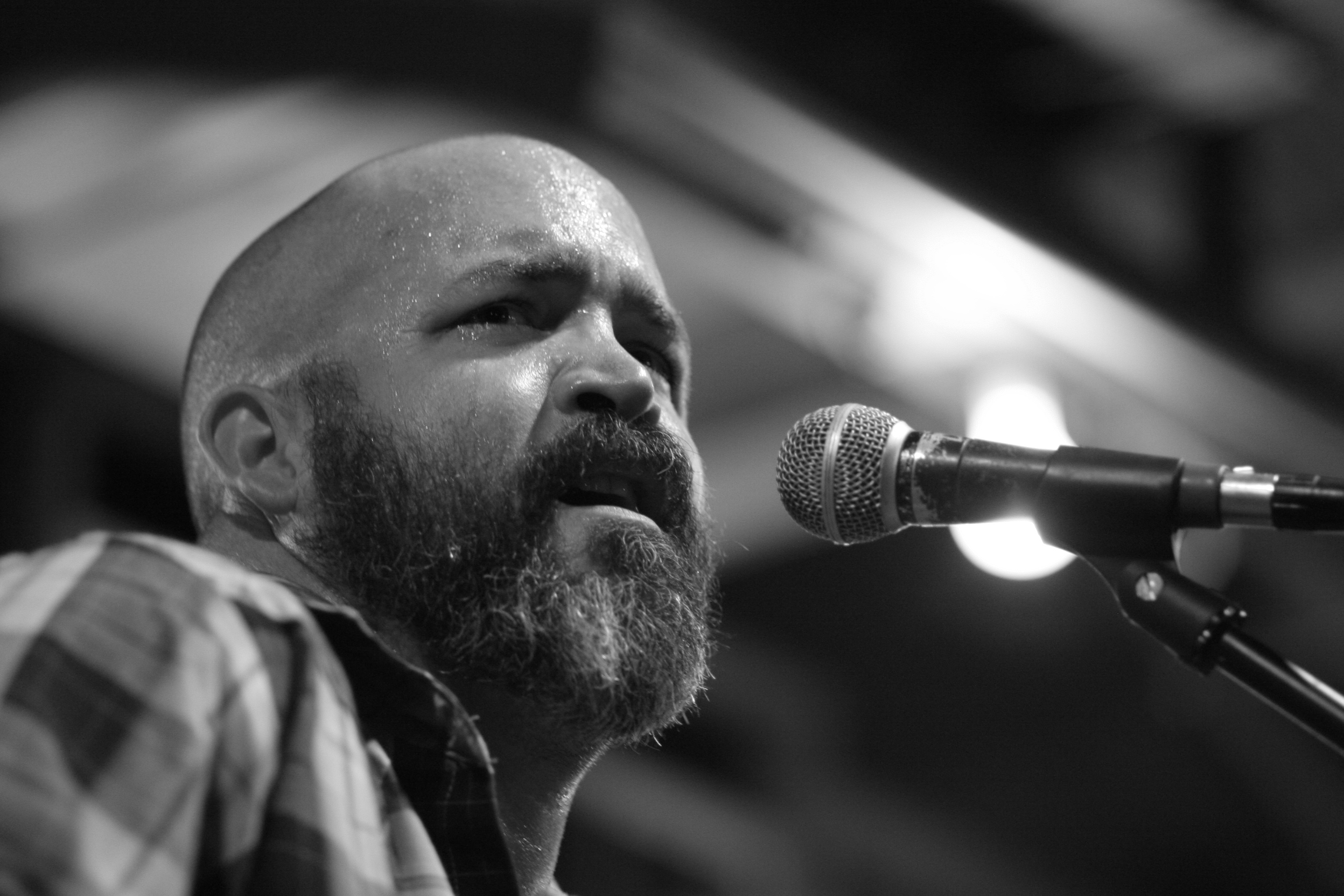 Justin Murray of Devil's Hollow at Gruene Hall, New Braunfels, Texas. Photo by Chris Wissman | 2010