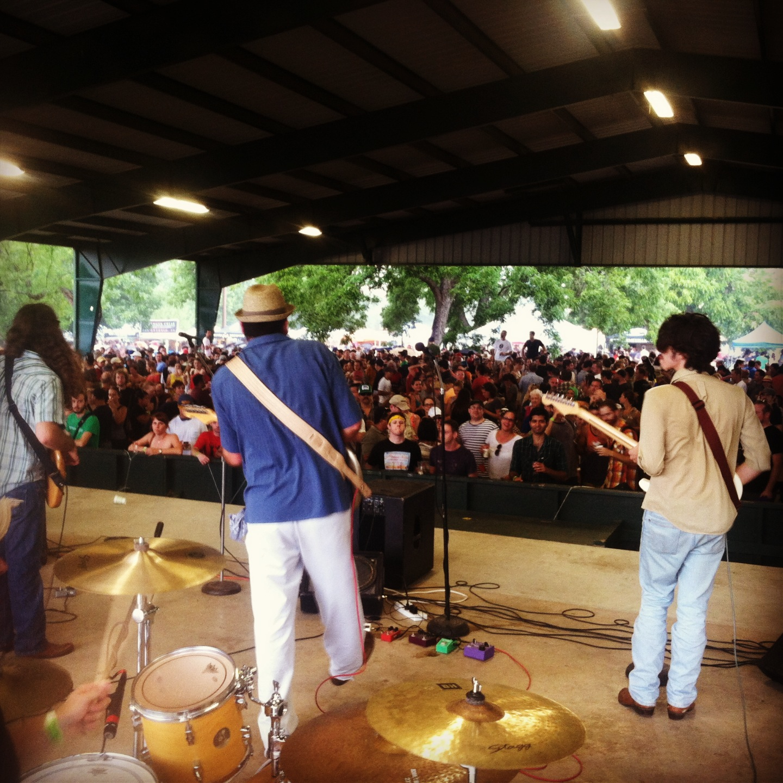 Devil's Hollow at the Texas Craft Brewers' Festival - Fiesta Gardens, Austin, Texas. 9/28/13