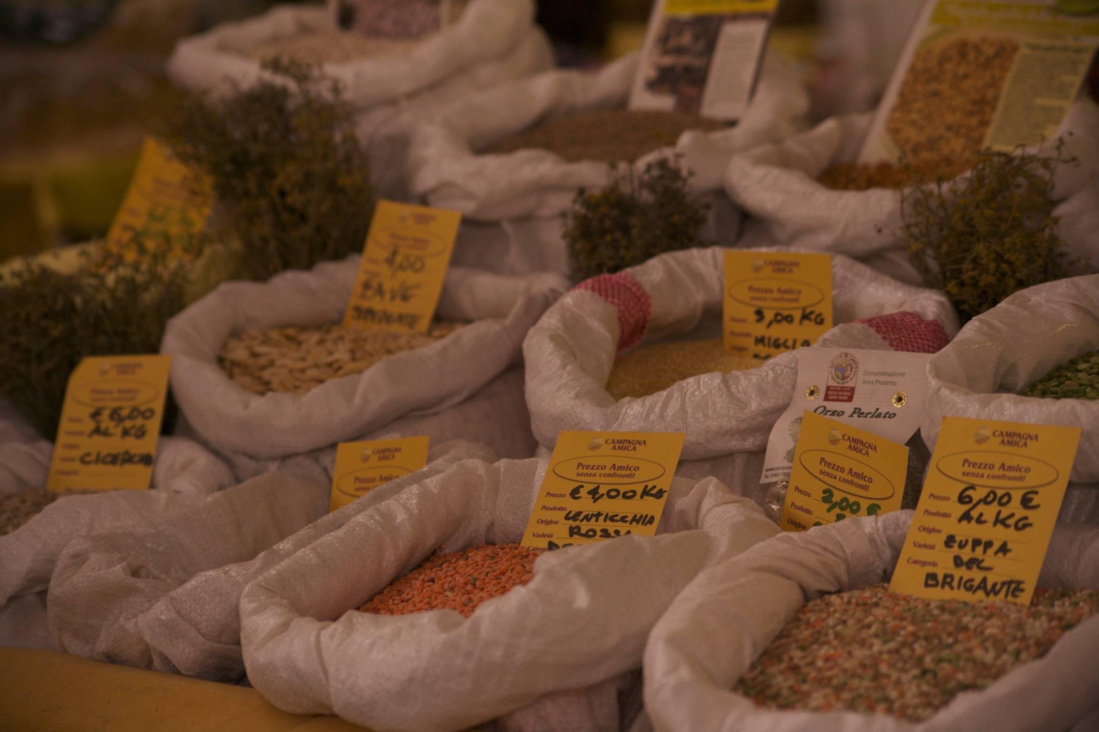 Visit the markets where chefs shop.