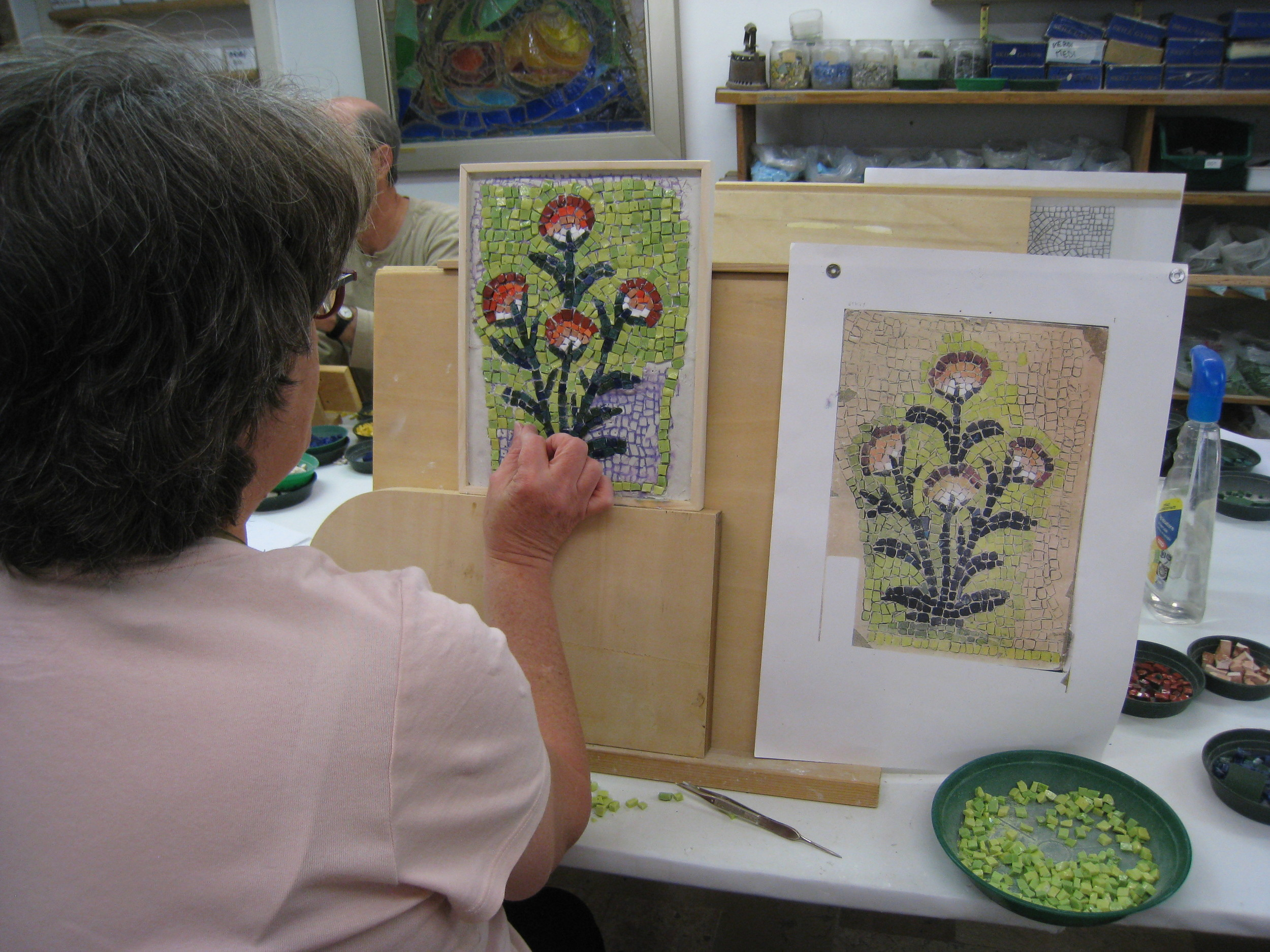 Take a workshop and take your art home.