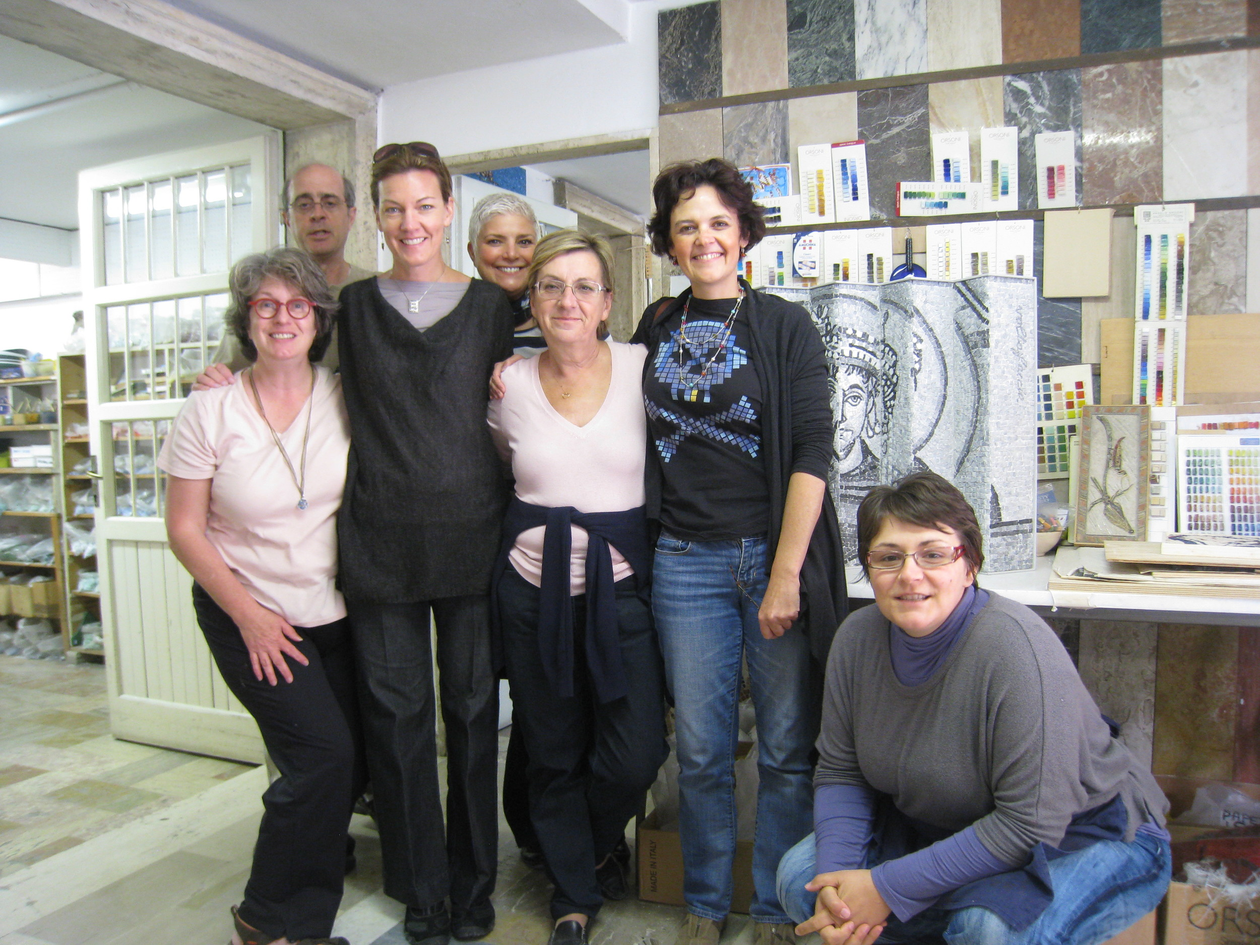 Visit the studios of accomplished artists.