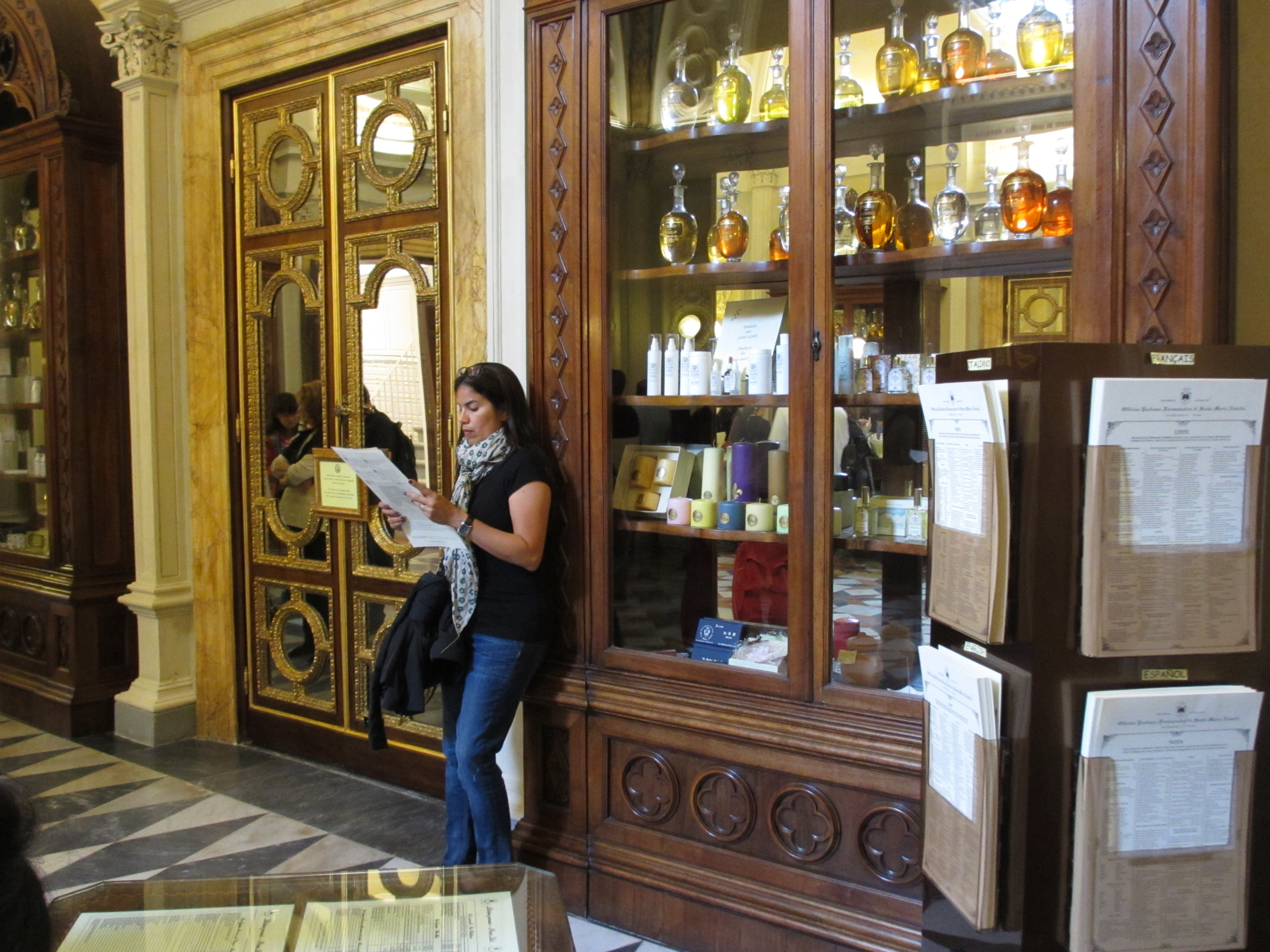 Shop at an apothecary founded by medieval monks.
