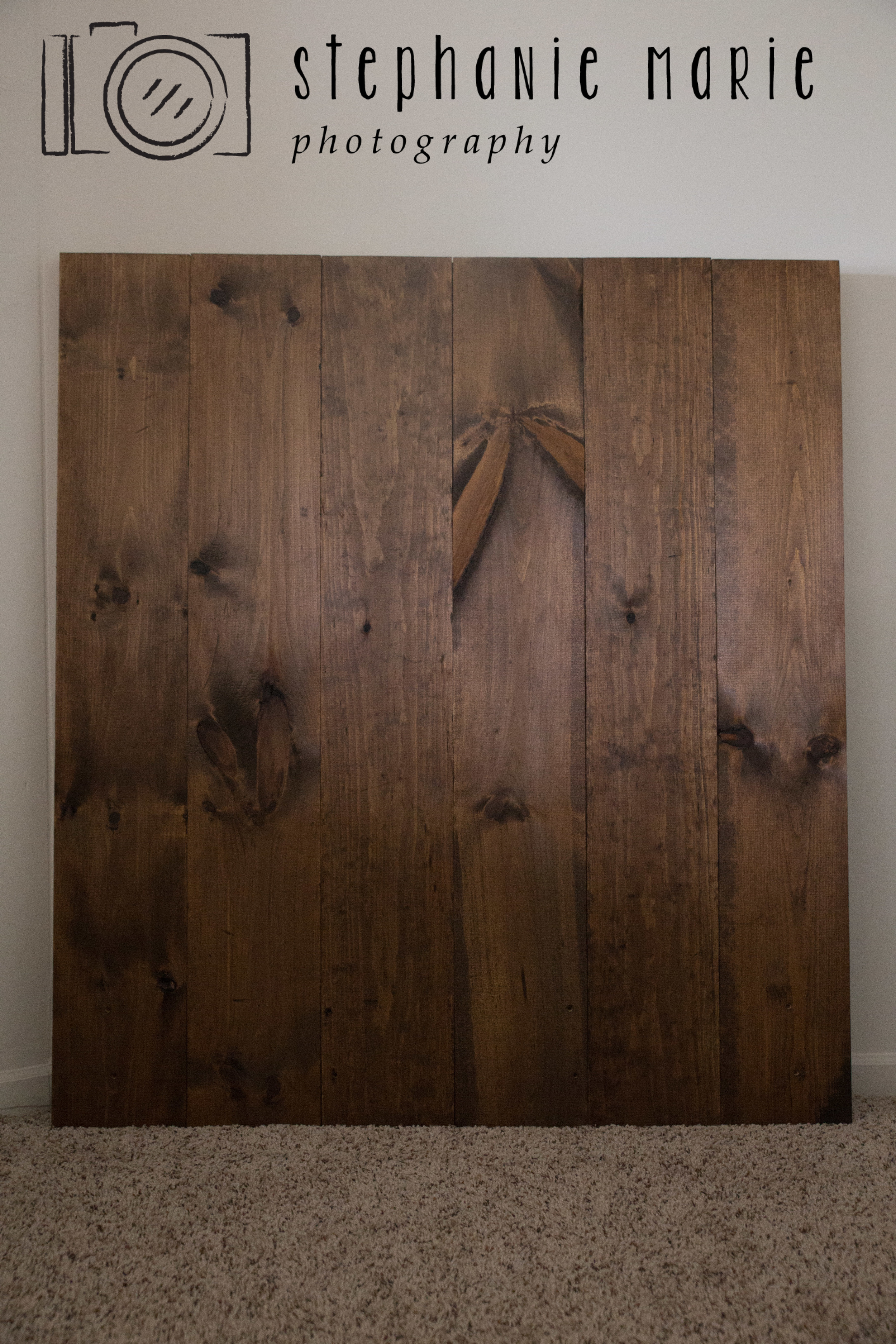 Tutorial How to DIY Photography Faux Wood Floor & Wall Backdrop Prop For Photographers