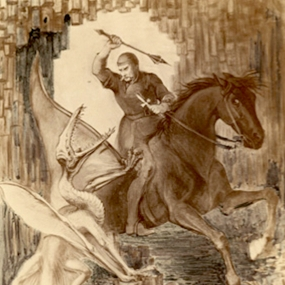 Saint George and the Pterodactyl