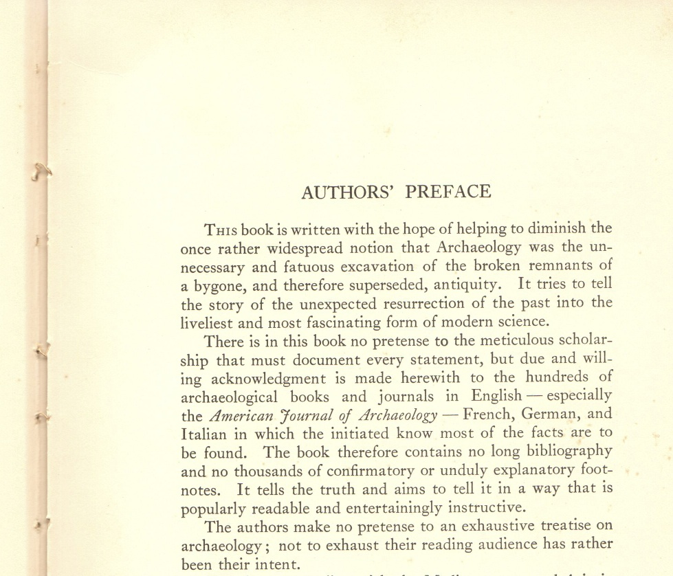 This authors' preface does not beat around the bush.