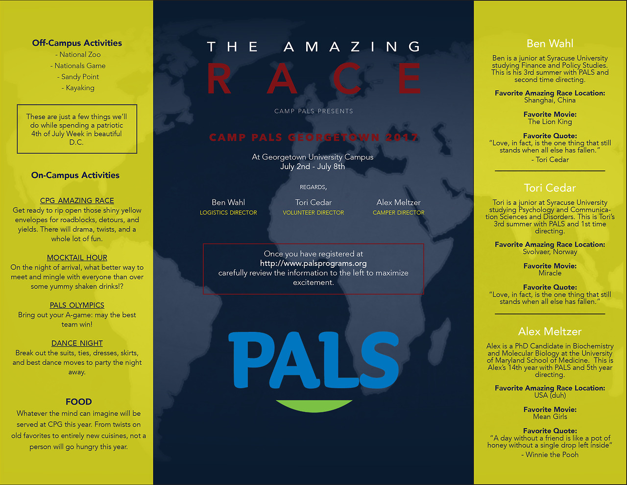 Director Blog Series: Camp PALS Georgetown   Click on the image to view all the exciting details!
