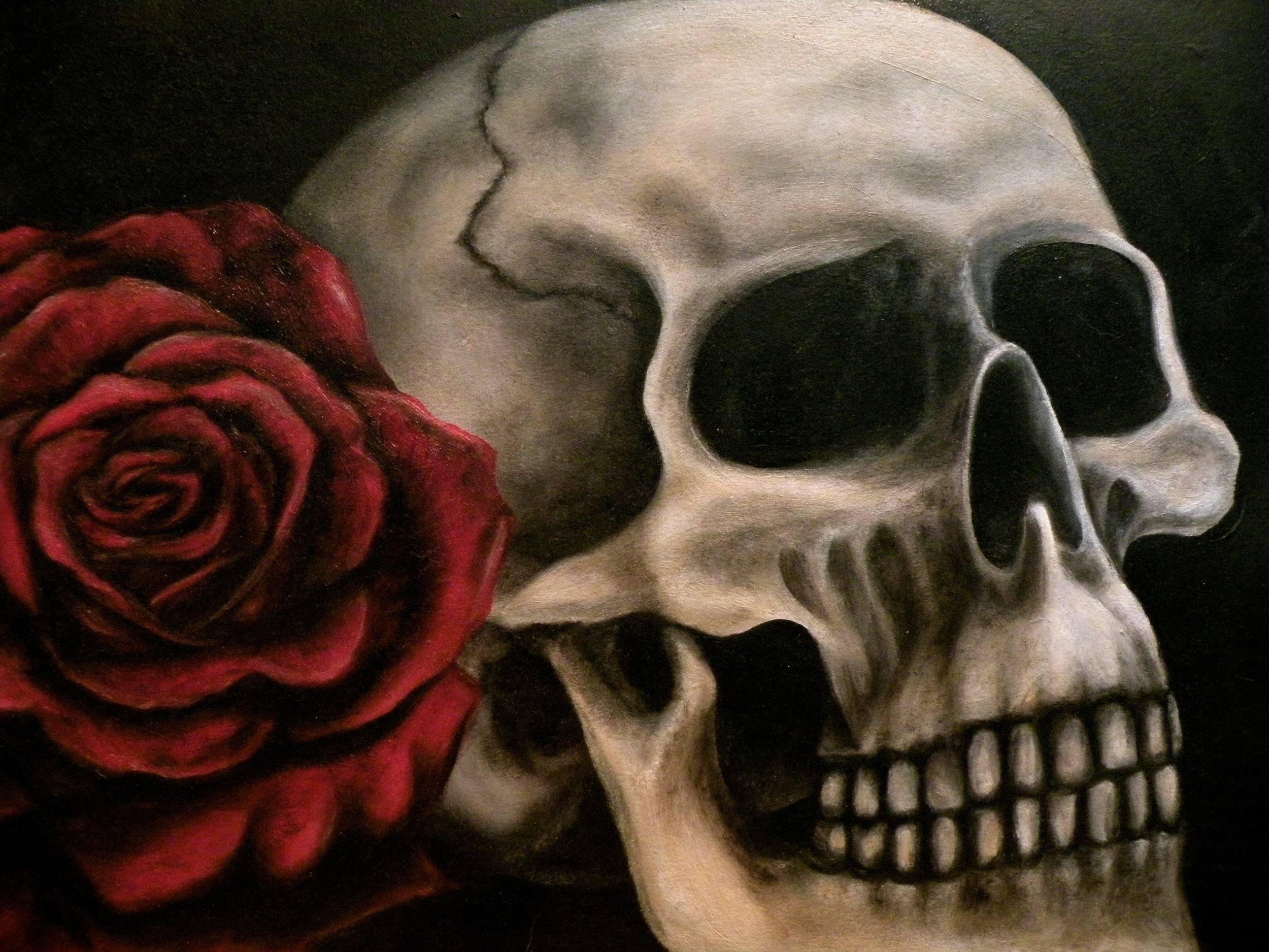 Skull and Rose Painting.jpg