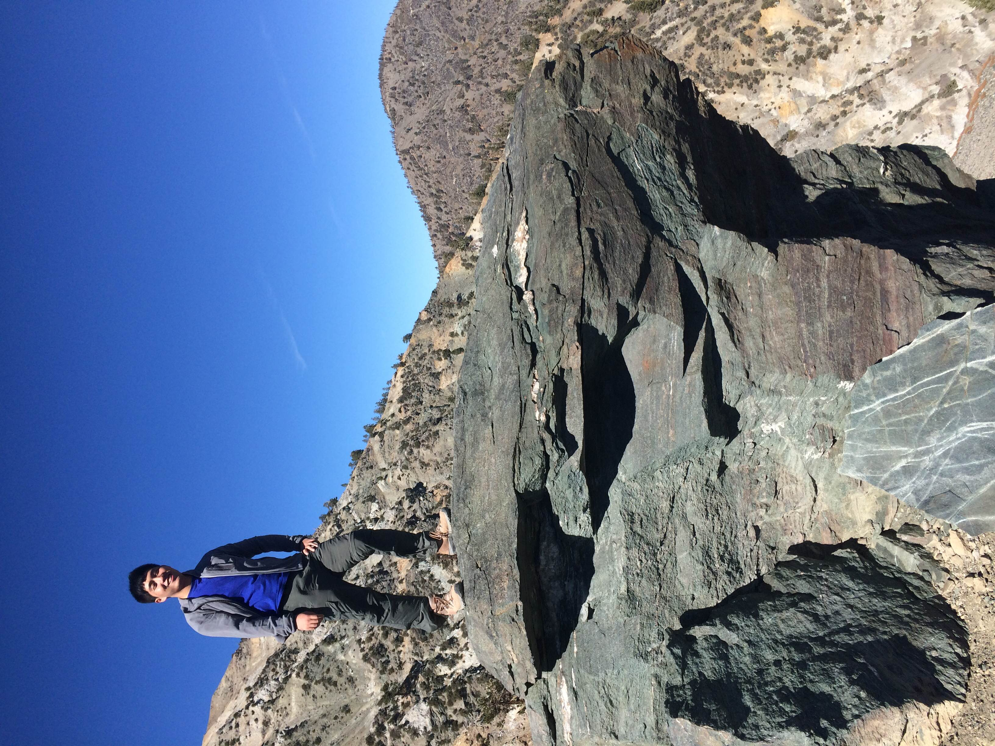 Axel Wong - Fieldtrip Coordinator   2nd Year Applied Geophysics B.S. student   Axel  is an enthusiast for both geology and alpine climbing. The highest mountain  Axel  climbed is Yuzhu Peak (6178 M) located in Qinghai Province, China.