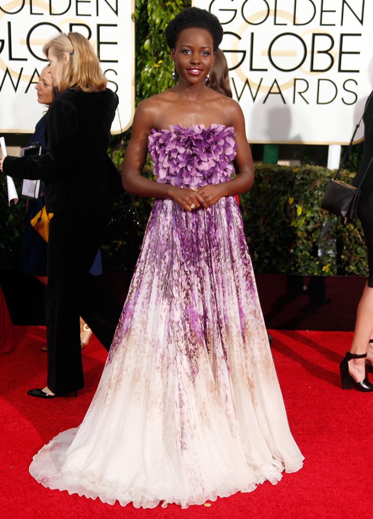 Lupita Nyong'o inGiambattista Valli
