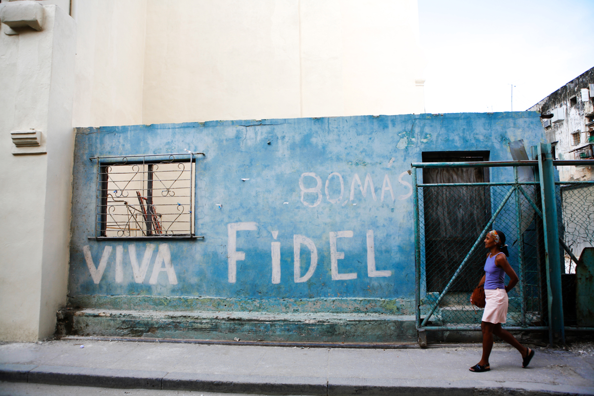 Fidel 80 Mas, Cuba