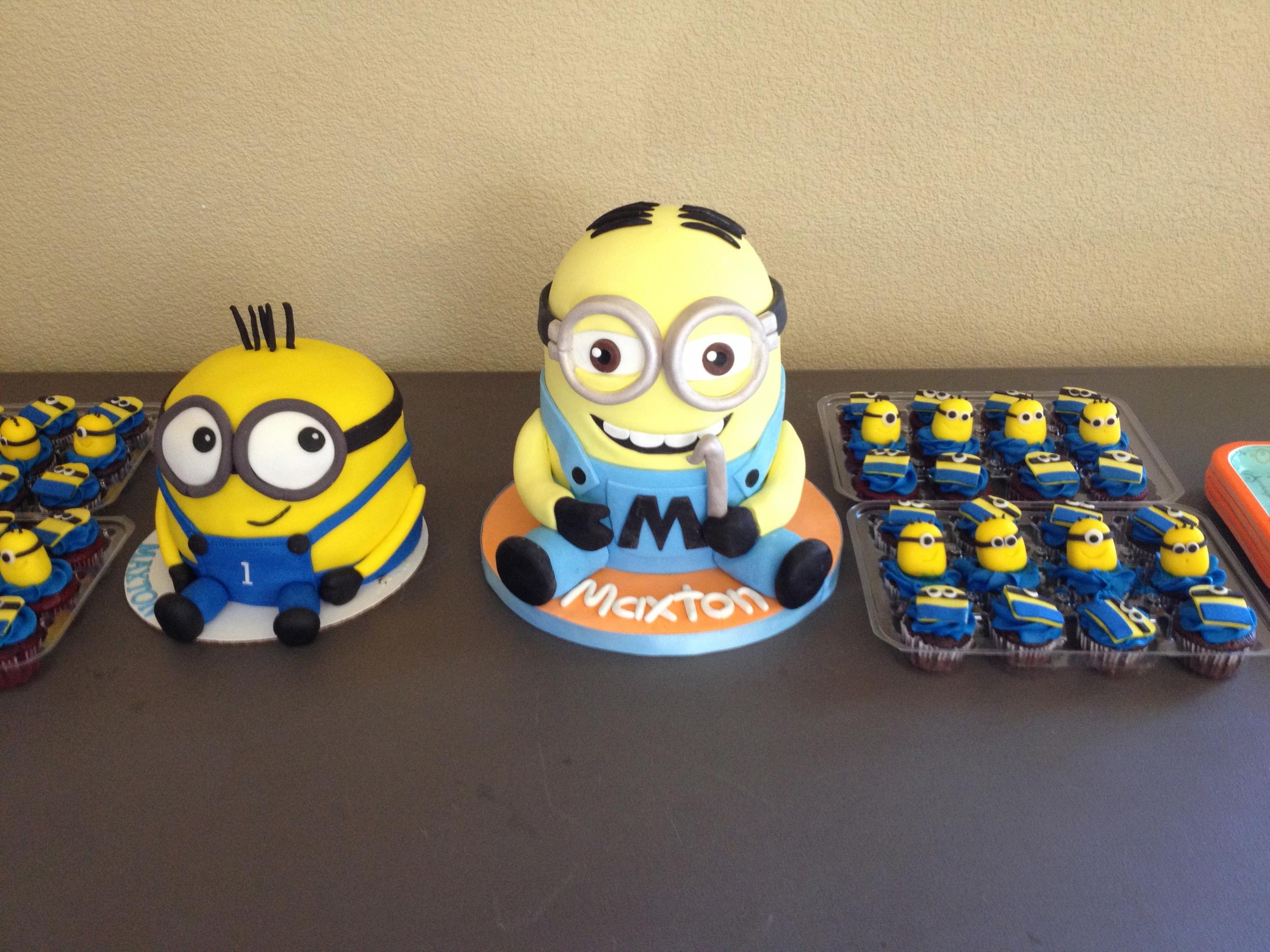 Maxton's Minion desserts