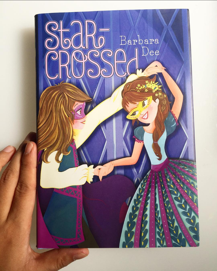 When I first got the synopsis for this book, I was wowed!  As a pre-teen who has gone through moments of confusing feels for my female and male friends, I wish I had some help sorting out these feelings.For any young person who has experience a crushed on either girl or boy or both,  Star-Crossed is invaluable to young readers struggling to sort our these feelings.  Thank you Karin and Alyson for this great opportunity to work on this project. It was a treat to work with all of you. And thank you Barbara for writing this great story.