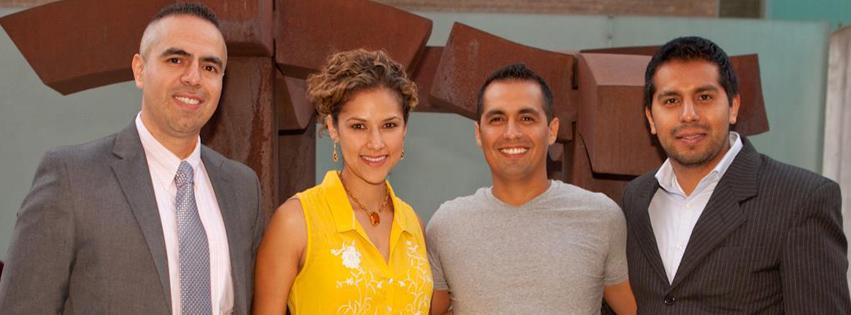 Hispanicpros' Co-Founders from L to R: Jose Gonzalez, Cristina Calderon, Ruben Barberan, and Jorge Fernando Guzman.