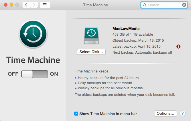 Turn Time Machine ON and Select Disc. It will walk you through the setup.
