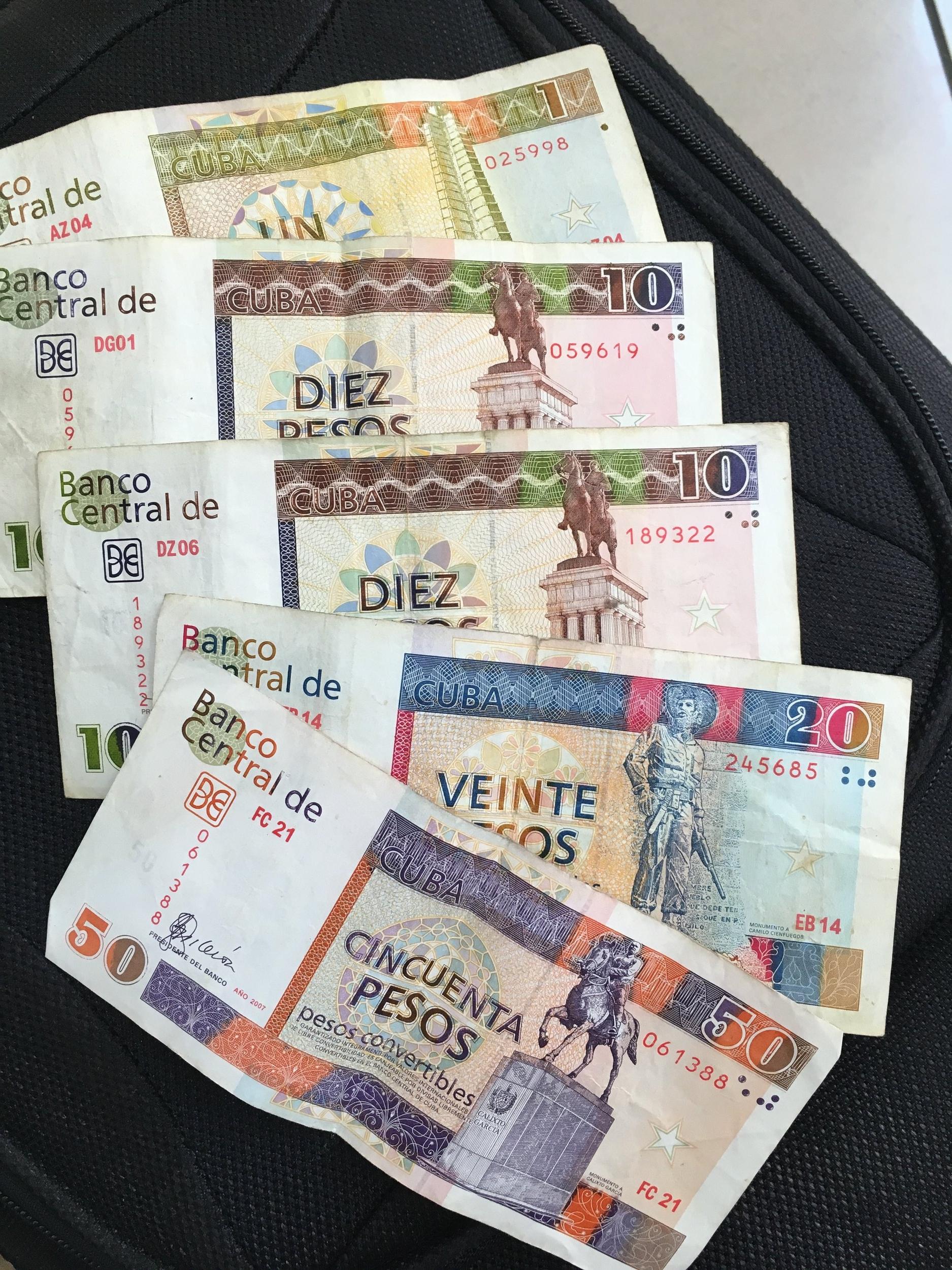 Cuban money