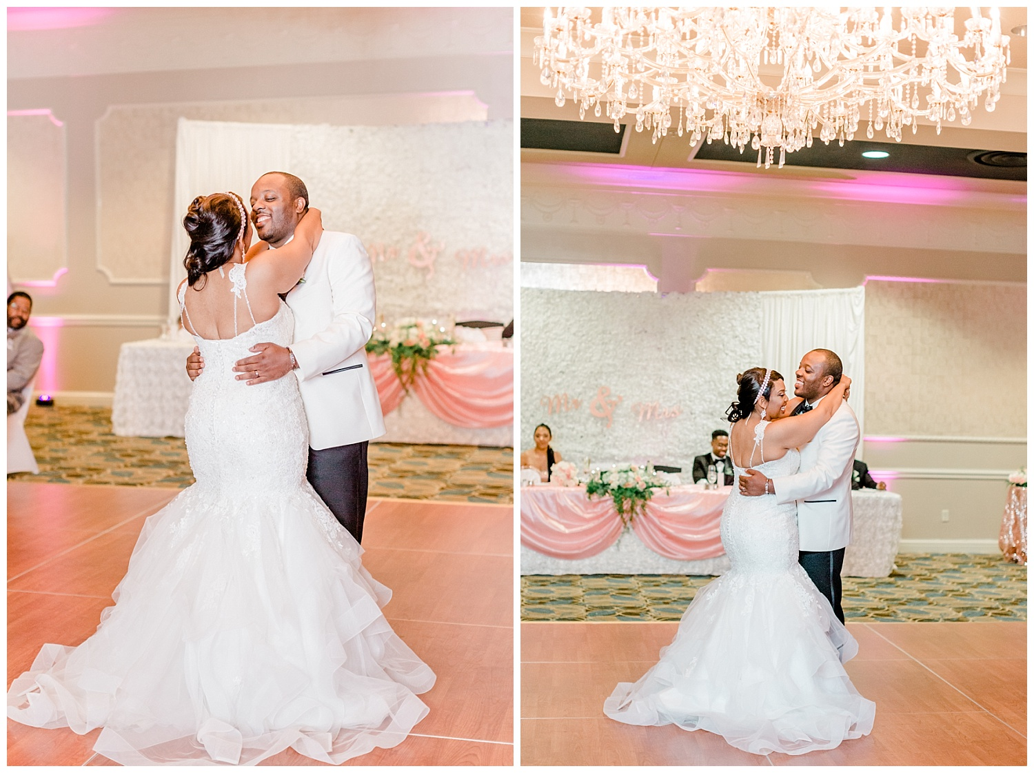 The couple had the sweetest first dance. They are so in love and so happy to be sharing this day with their family & friends.