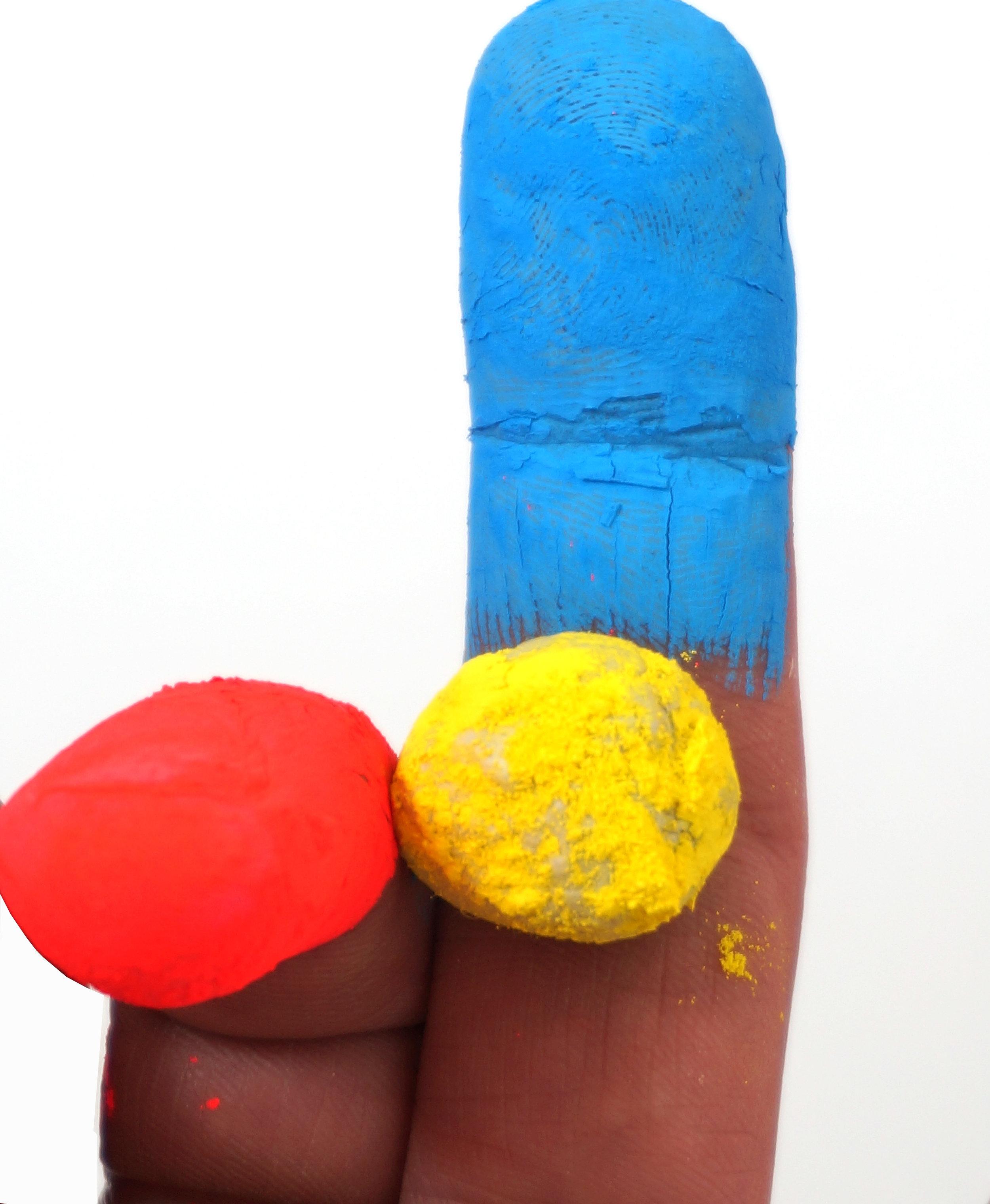 Finger sculpture 1, 2018  type c print on cotton rag  dimensions variable