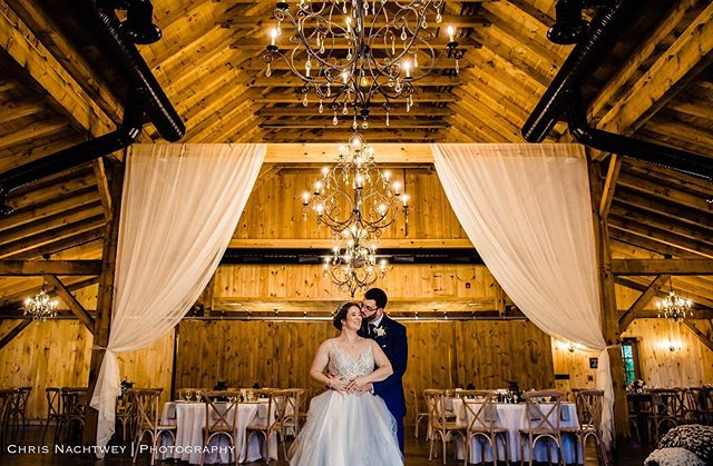 The Barn at Stonehurst is such a beautiful place for your reception! We had to sneak in for a quick photo before guest came in😀