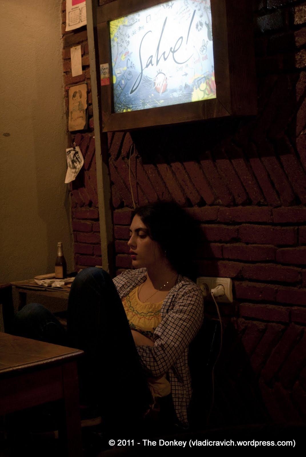 An actress unwinds at Salve