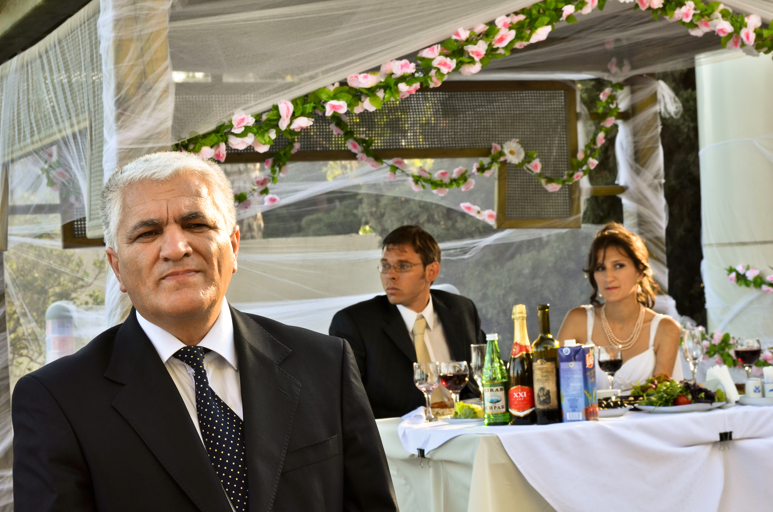 Father of the bride.