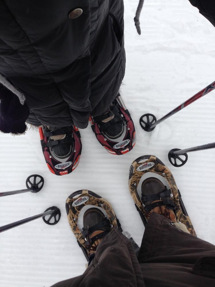 Snow shoes!
