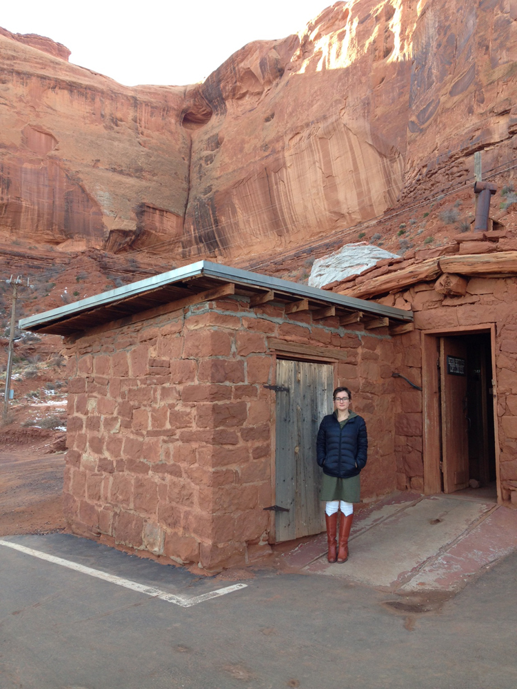 John Wayne's cabin!