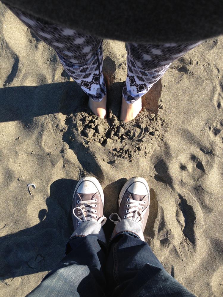 Eric found me on the beach!