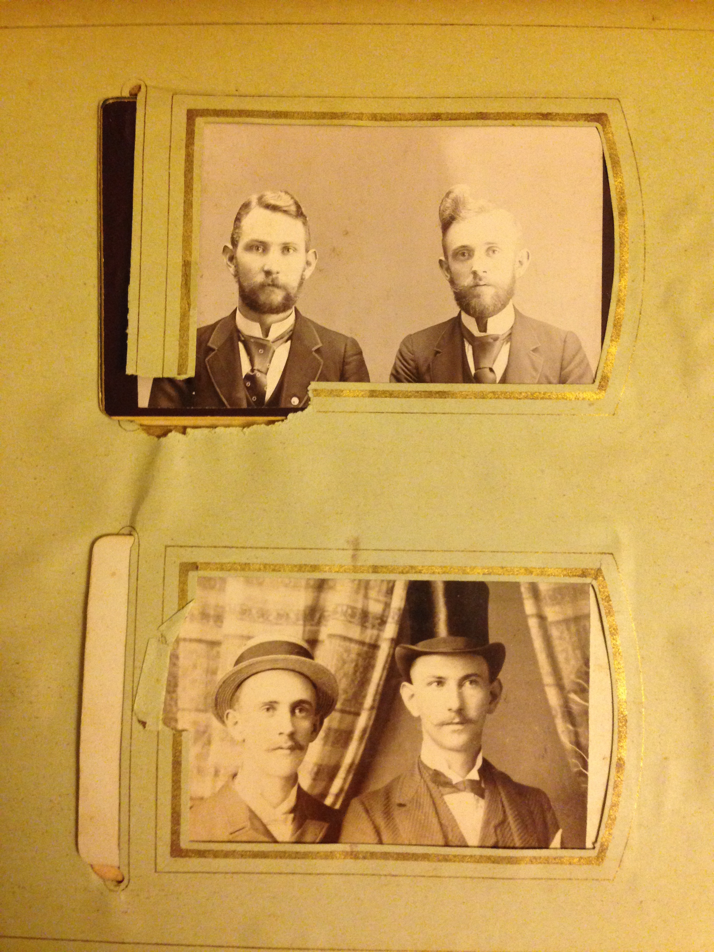 The original hipsters. Our friends ancestors really rocked those styles.