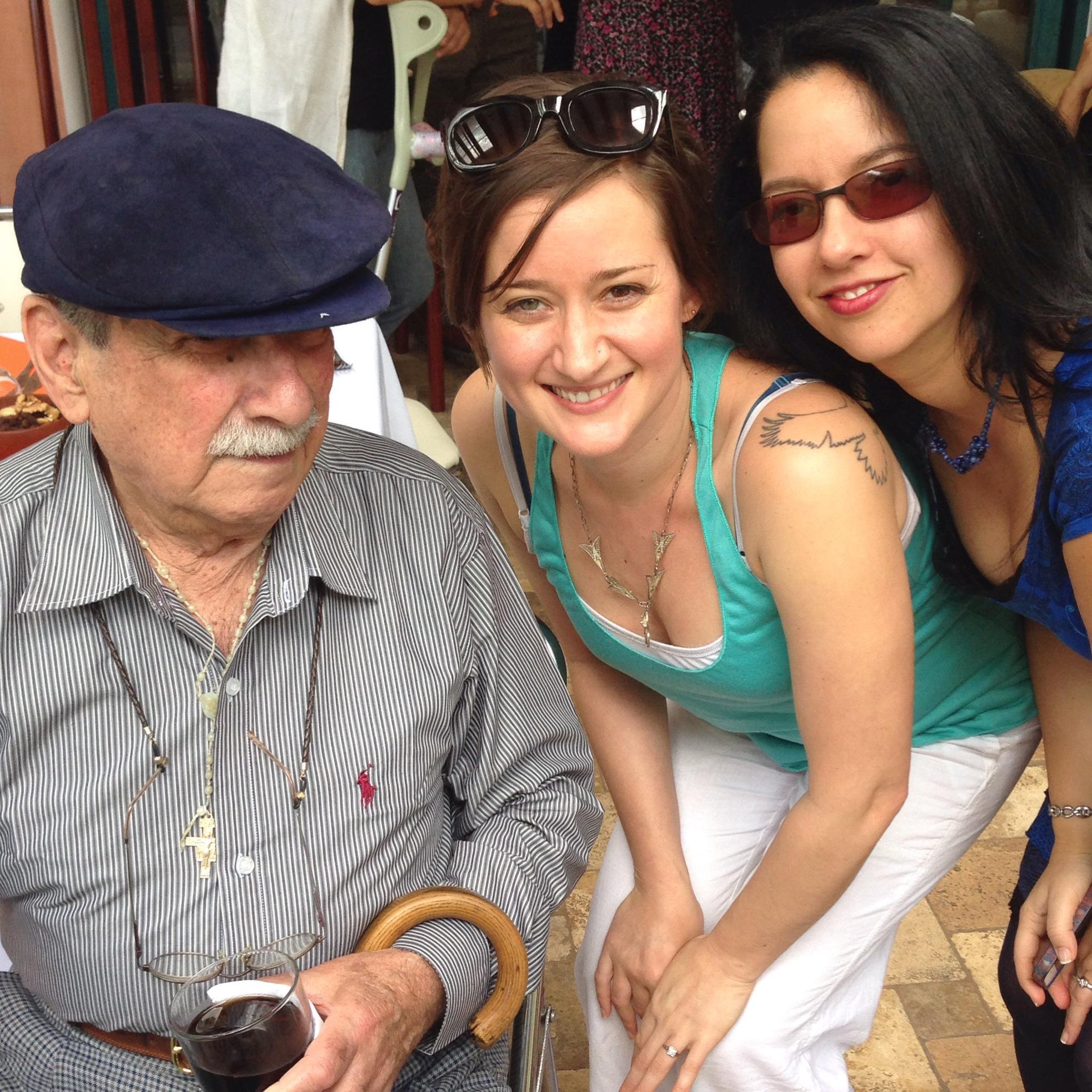 Tio Pepe, me, Maria Amelia.