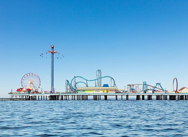 Galveston Island Historic Pleasure Pier.