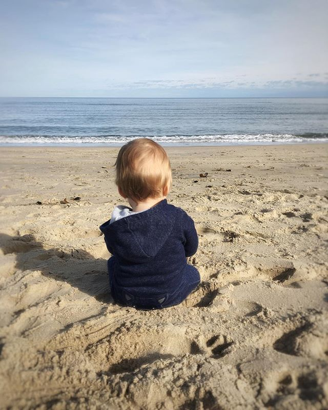 Our favorite thing is to sit on the beach and look at the ocean 🌊