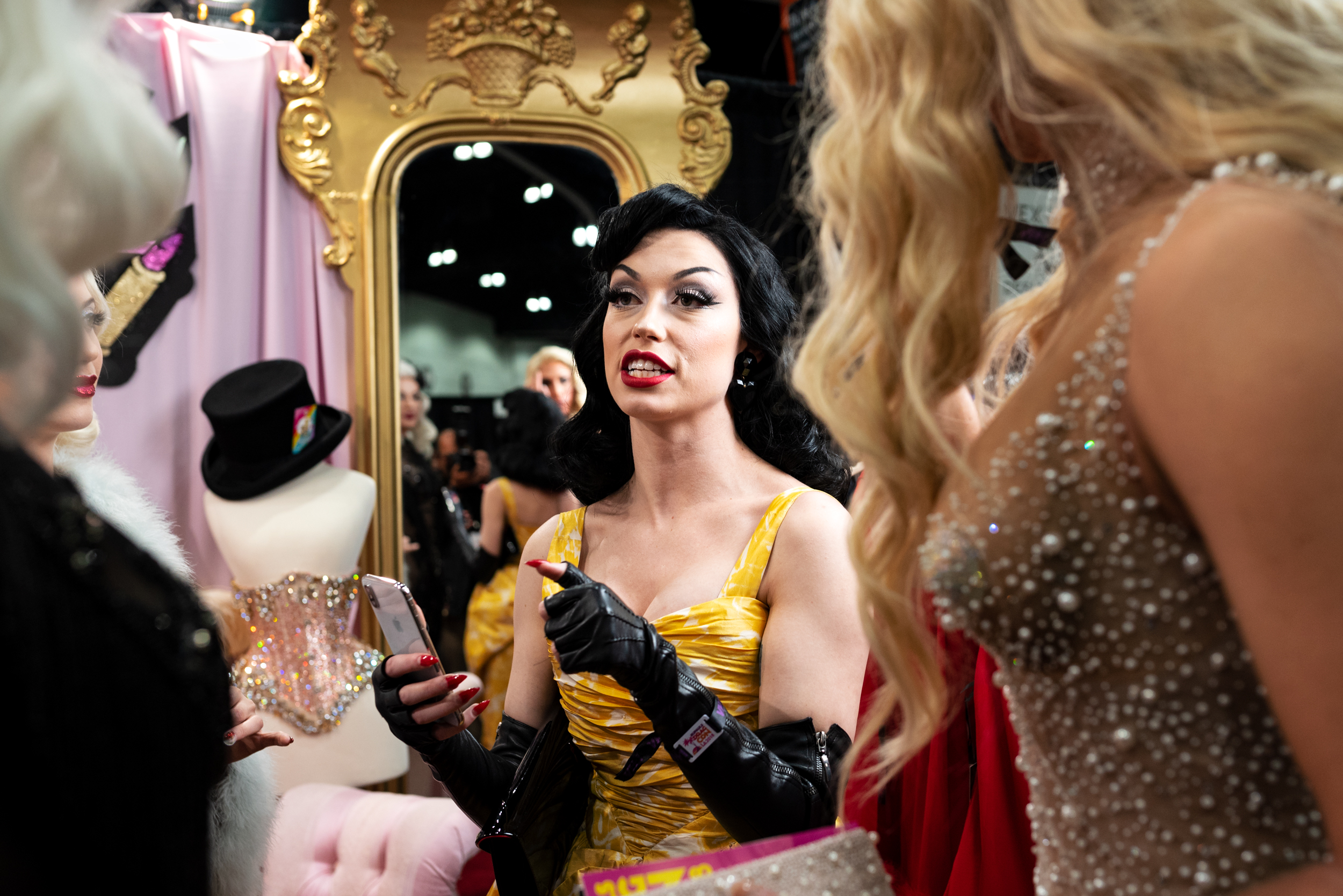 Bryona Ashly during RuPaul's DragCon at the Los Angeles Conventi