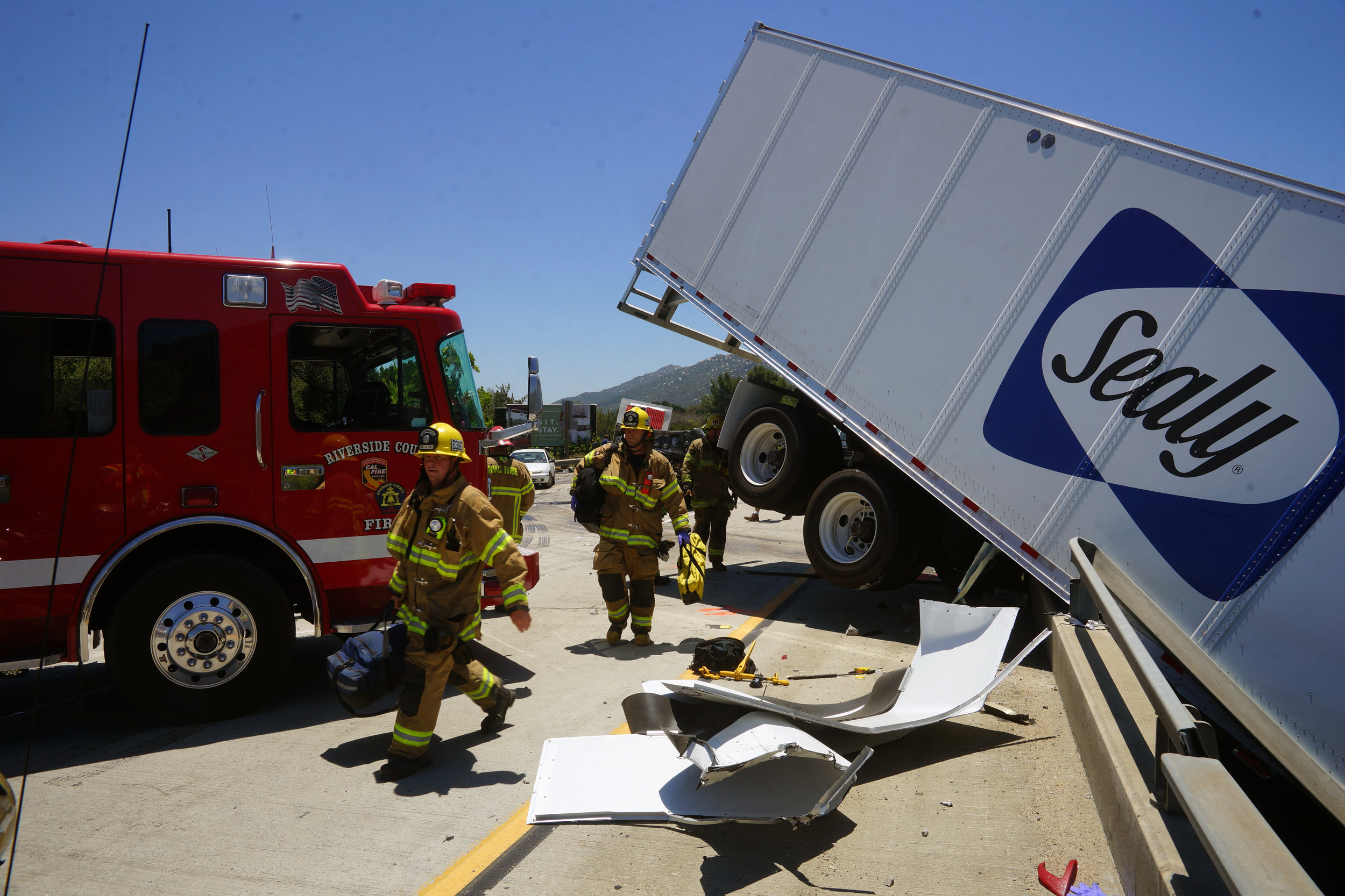 Temecula I-15 Accident 1