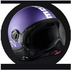Matt Purple / White