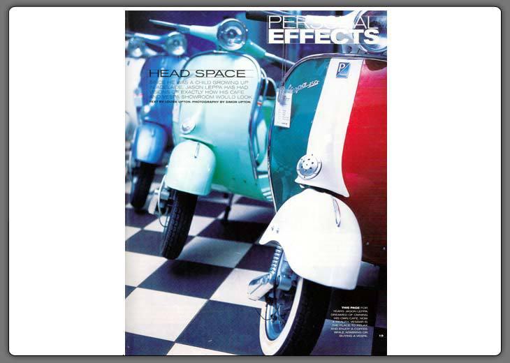 Belle Magazine Nov '02