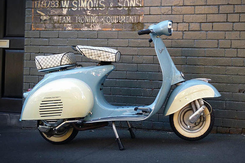 Vintage Scooters — Gasoline